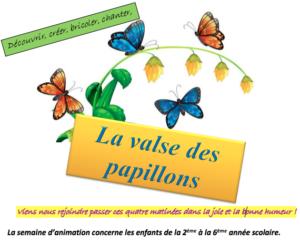 La valse des papillons - Détail de l'affiche